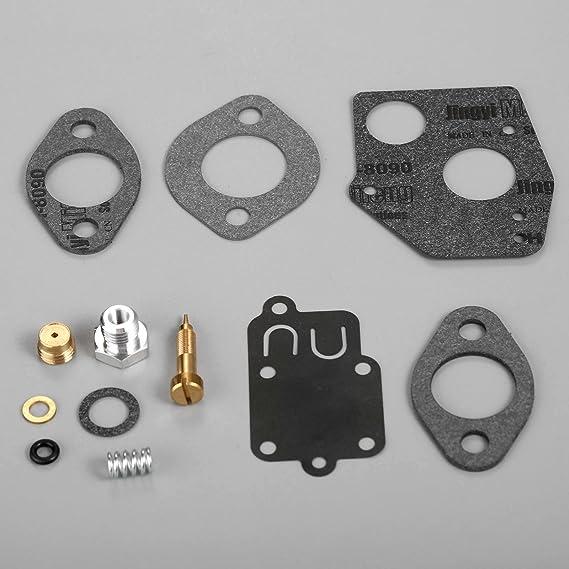 Carburetor Carb Rebuild Kit Fits /& 495606 494624 3-5HP Engines