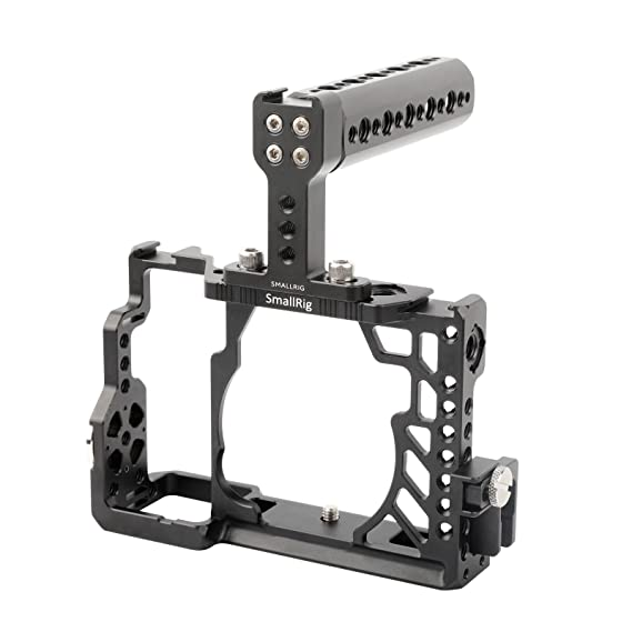 SMALLRIG a7s Cage Kit de Jaula con Top Handle y HDMI Lock para ...
