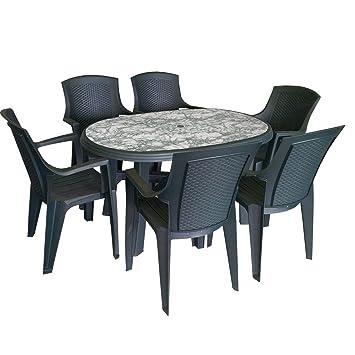 Marmor gartentisch latest esstisch gartentisch naturstein for Tisch marmoroptik