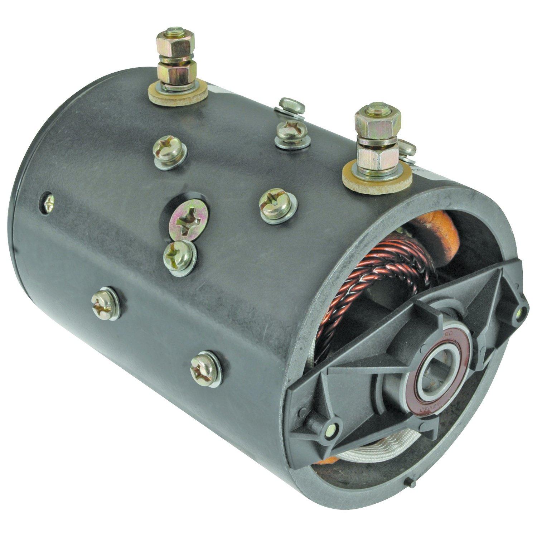 NEW 12V BI-DIRECTIONAL ELECTRIC PUMP MOTOR SLOTTED SHAFT HALEX-BARNES, FENNER STONE, MTE, VENCO 39200397