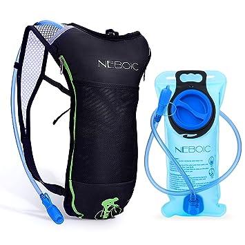 Amazon.com: Neboic - Mochila de hidratación, con bolsa de ...