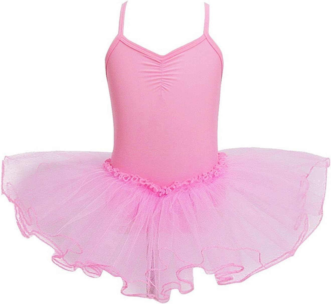 iMixCity Ragazza Leotard Vestito Tutu Balletto Dancewear Body Ginnastica Abbigliamento 3-12 Anni /…