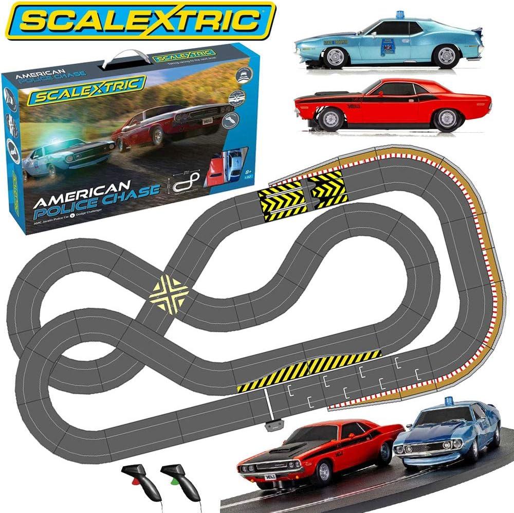 Analogue 2 Cars Jadlamracing Layout JADLAM SCALEXTRIC Bundle SL1 2020