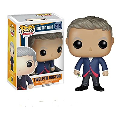 Funko 4630 POP TV: Doctor Who Dr #12 Action Figure: Funko Pop! Television:: Toys & Games