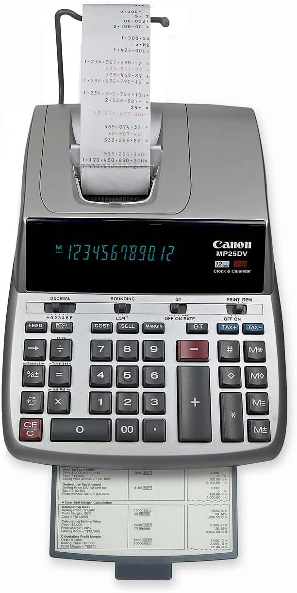 B00005KJNF Canon MP25DV Standard Function Calculator 710dSUOaIqL