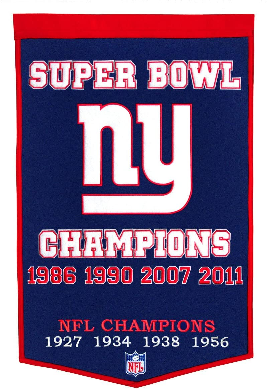 Winning Streak NFL Dynasty Banner