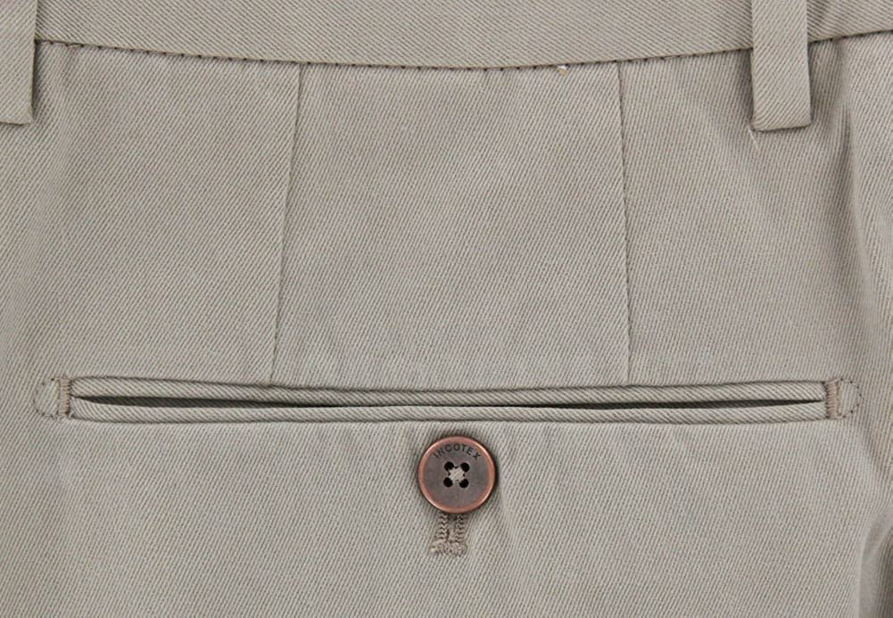 Extra Slim 44//60 Incotex New Beige Solid Pants