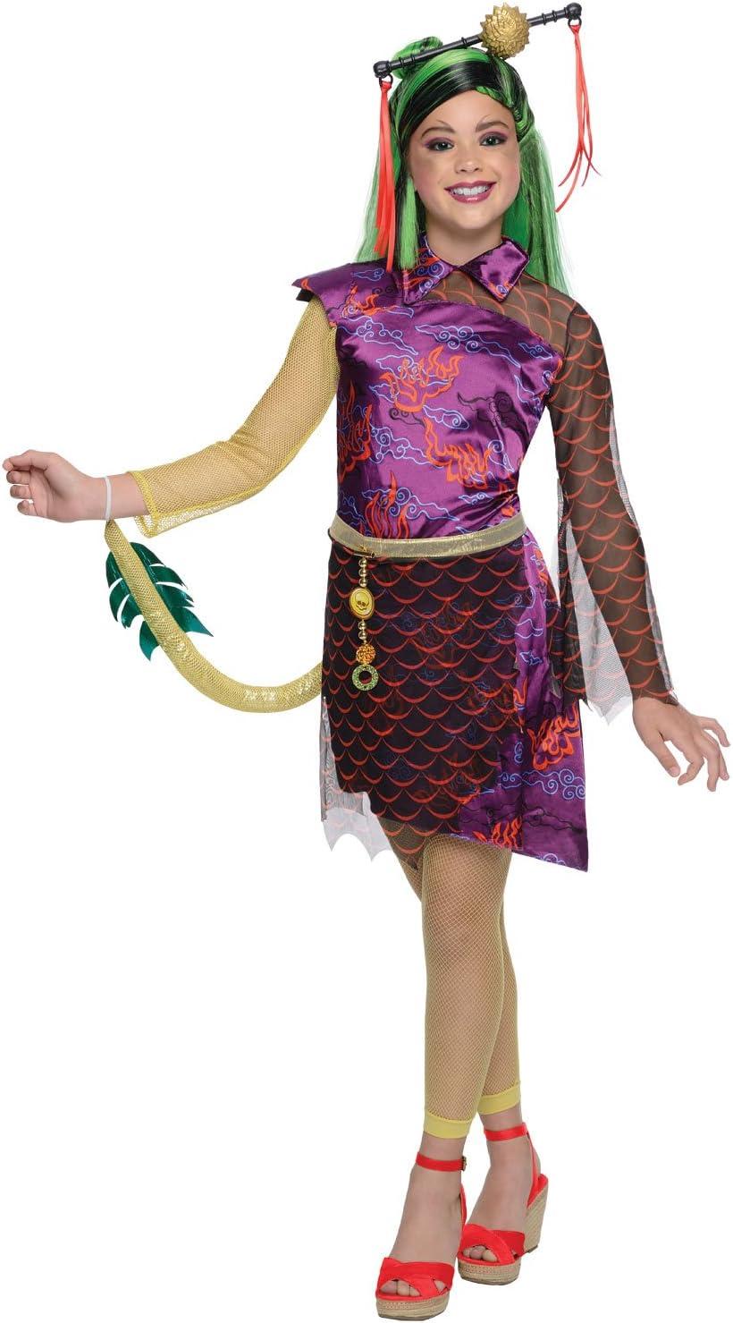 Monster High Lagoona Blue Kostuem.Rubies Monster High Jinafire Long Costume Medium Amazon Ca Toys Games