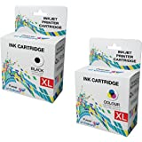 2 Compatible PG-540XL CL-541XL Ink Cartridges for Canon Pixma MG2100 MG2150 MG2200 MG2250 MG3100 MG3150 MG3200 MG3250 MG3255 MG3500 MG3550 MG4100 MG4150 MG4200 MG4250 MX375 MX435 MX475 MX515 MX525 MX535 MX395