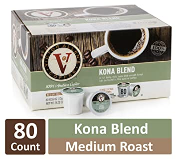 Amazoncom Kona Blend For K Cup Keurig 20 Brewers 80 Count