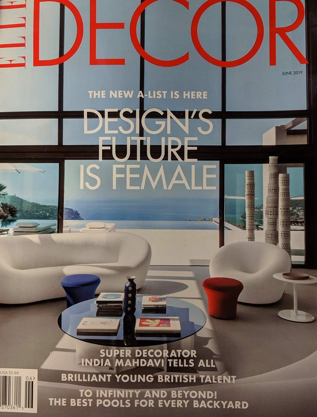 Elle Decor Magazine June 2019 Designs Future Is Female