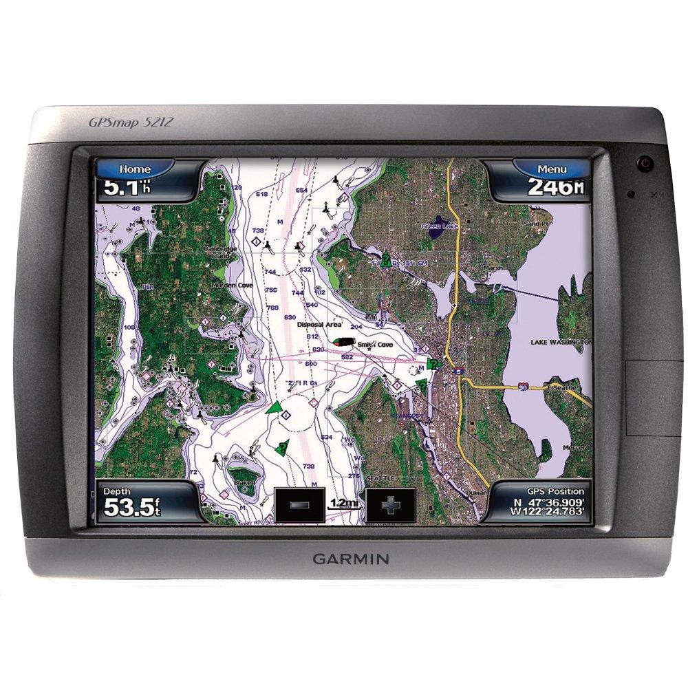 Amazon.com: Garmin GPSMAP 5212 12.1-Inch Waterproof Marine GPS and  Chartplotter: Electronics