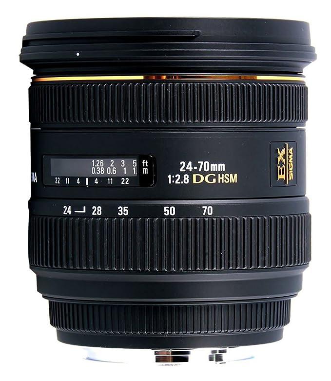 Sigma 24-70mm f2.8 IF EX DG HSM Nikon: Amazon.es: Electrónica