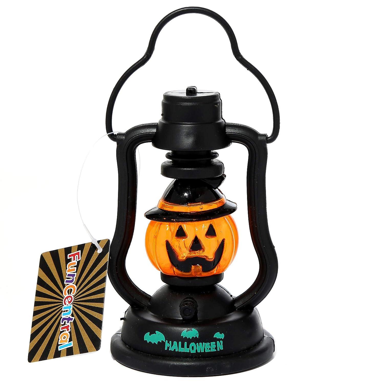 Jack-O-Lantern Outdoor Lights Halloween Party Supply Decoration Fun Central BD038 12 Pcs Assorted LED Halloween Lantern