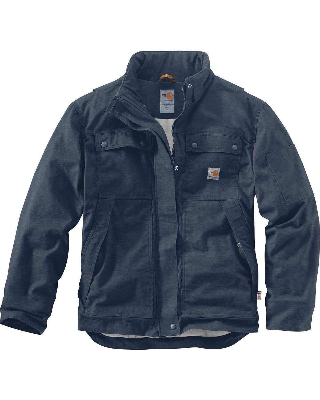 Carhartt Men's Flame Resistant Full Swing Quick Duck Coat, Dark Navy, Medium by Carhartt