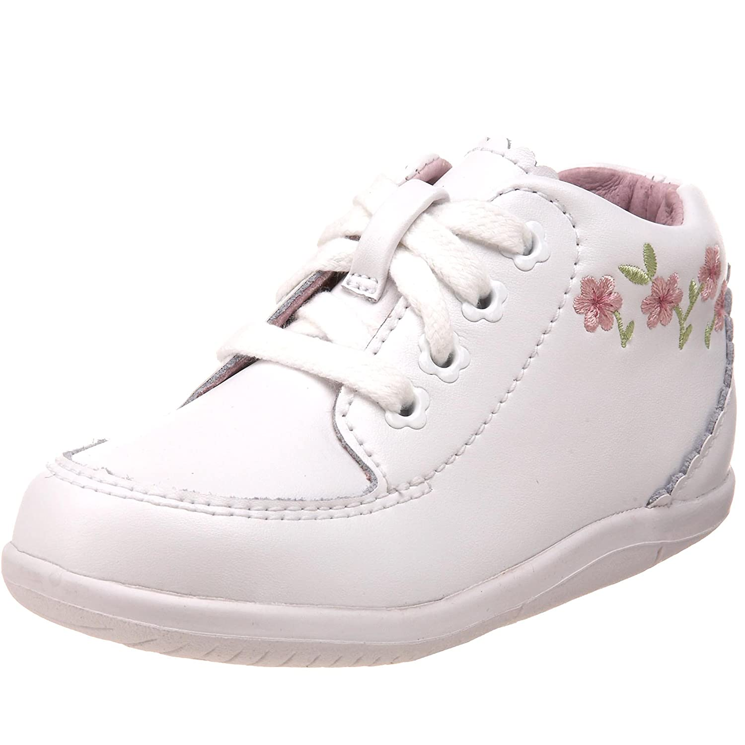 Stride Rite SRTech Emilia Bootie (Infant/Toddler),White,3 ...