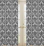 Sweet Jojo Designs 2-Piece Damask Print Isabella Window Treatment Panels