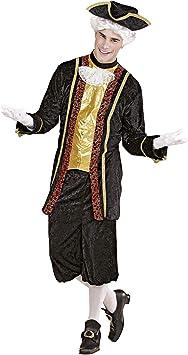 WIDMANN Widman - Disfraz de noble veneciano para hombre, talla ...