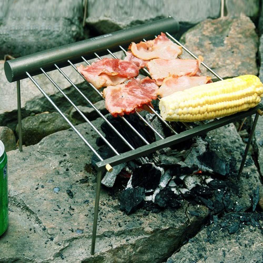 Amazon.com: Lixada - Parrilla para barbacoa de camping ...
