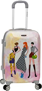 Rockland Vision Hardside Spinner Wheel Luggage, Fashion, Carry-On 20-Inch