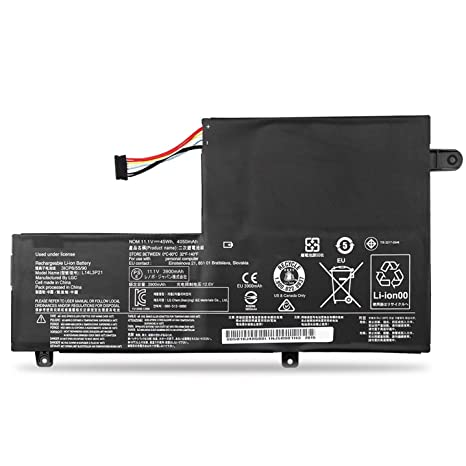 EMAKS Compatible with L14L3P21 / L14M3P21 Battery Lenovo Flex 3 14 15 1435/1470/1480/1570/1580 3-14-ALEI 14-IFI 14-ISE;IdeaPad 310S-14AST 510S-14ISK ...