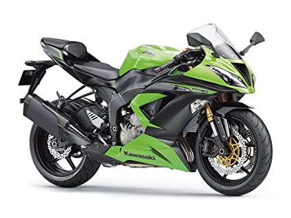 Amazon.com: Kawasaki Ninja ZX-6R 636 Sport Bike Motorcycle ...