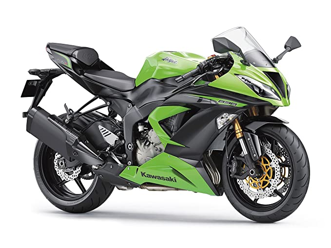 Amazon.com: Kawasaki Ninja ZX-6R 636 Sport Bike Motorcycle ...