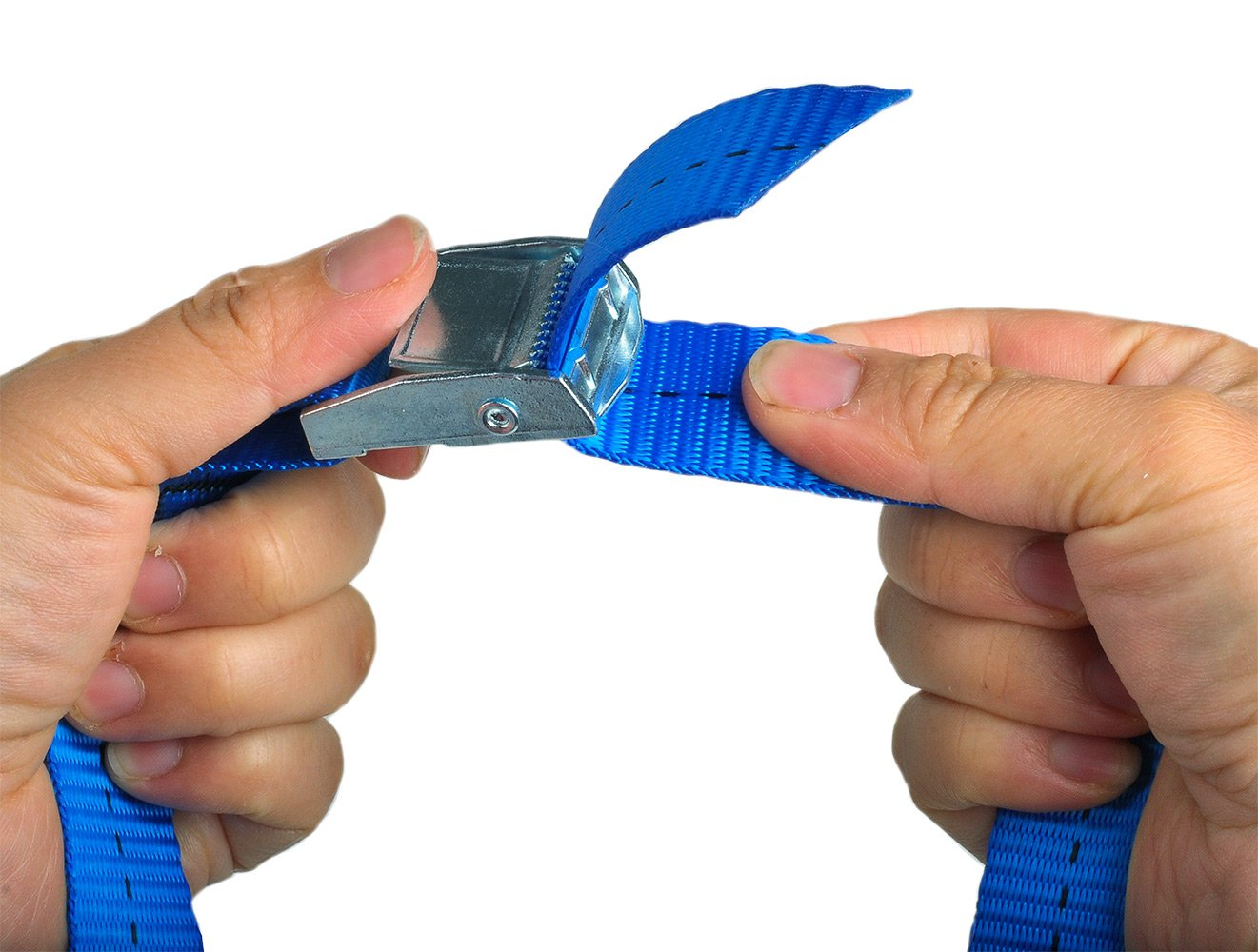 Pack of 4 Blue BlueCosto 1 x 8 Lashing Strap Tie Down Straps Rated 500 Lbs