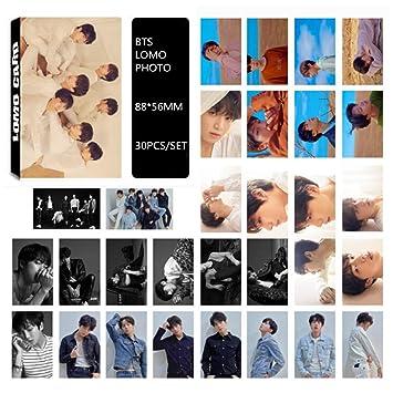 30pcs //set Cute BTS Bangtan Boys SUGA Dispatch Photo Card Poster Lomo Cards