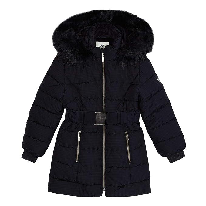 97d9787edb40 Debenhams J by Jasper Conran Kids Girls  Navy Padded Shower Resistant Coat  Age ...