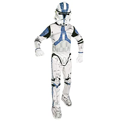 Star Wars Child's Clone Trooper Costume, Medium: Toys & Games