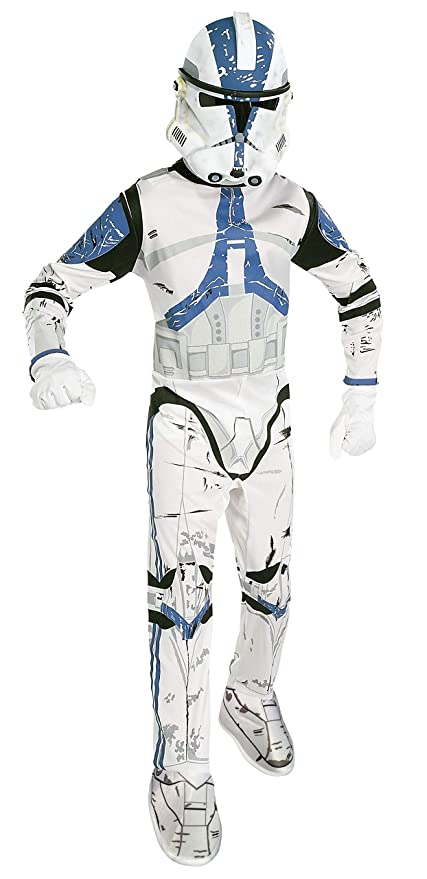 Star Wars Child's Clone Trooper Costume, Small (4 - 6)