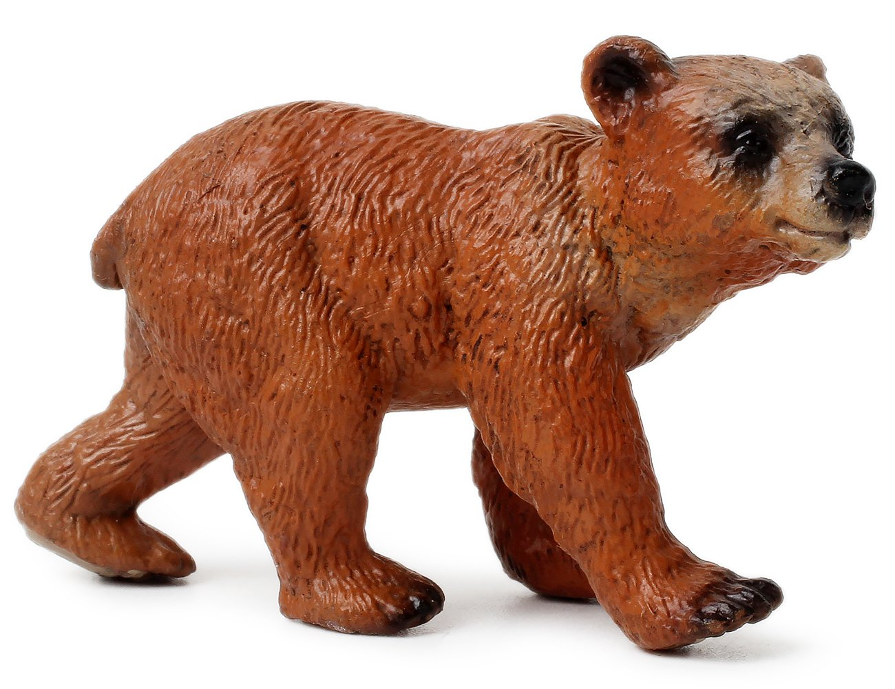 UANDME Miniature Grizzly Bear Toy Figurines, Set of 3 Bear Figures, North American Wildlife Grizzlies Male, Female and Cub (Set) by UANDME (Image #3)