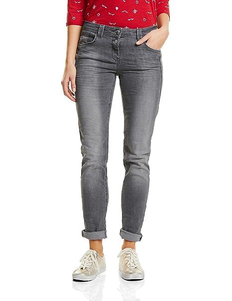 CECIL Damen Straight Jeans 371171 Scarlett