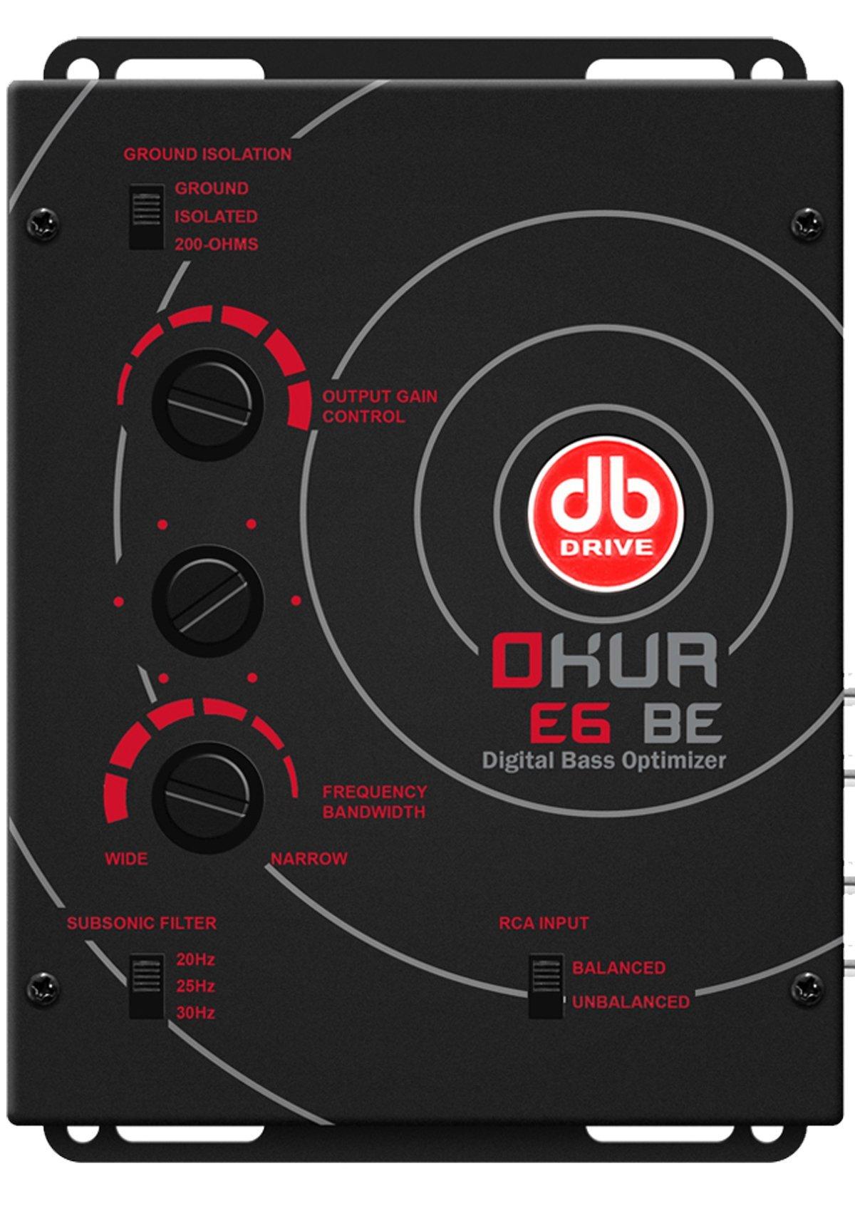 db Drive E6 BE Digital Bass Optimizer