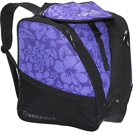 Amazon.com   Transpack XTW Print (Purple Floral)   Snow Sports Boot Bags    Sports   Outdoors f75f3ed08fc6b