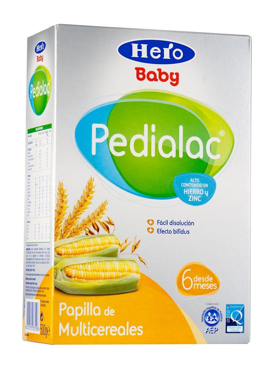 Hero Pedialac Papilla Multicerales 500Gr - Papilla Multicereales Hero Baby Pedialac