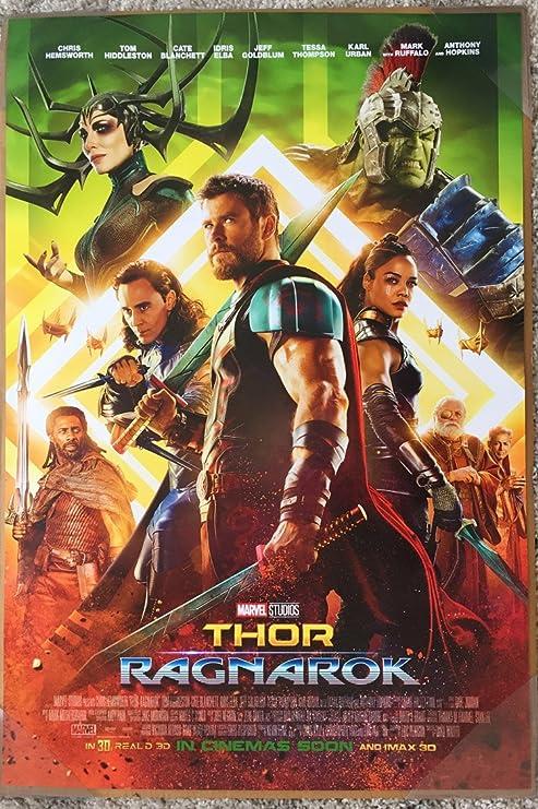 Image result for Thor Ragnarok Poster