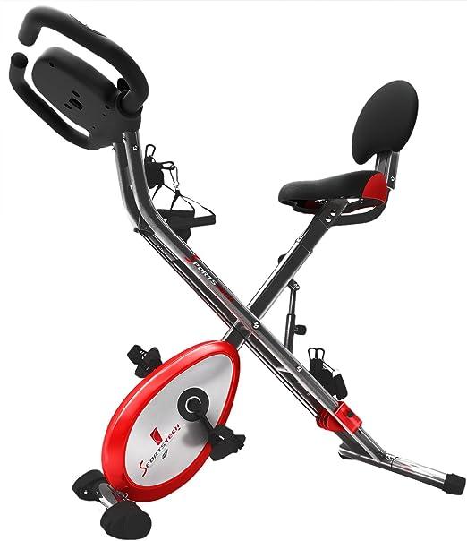 Sportstech bicicleta estática F-Bike X100 y x150 4-en-1 Home ...