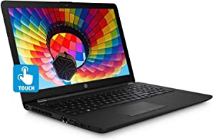 "2019 New HP 15.6"" HD Touch-Screen Laptop Notebook Computer, Intel Pentium Quad-Core N5000 (max 2.6 GHz, Beat i3-7100U), 4GB RAM, 1TB HDD, Bluetooth, Wi-Fi, HDMI, Webcam, Win 10"