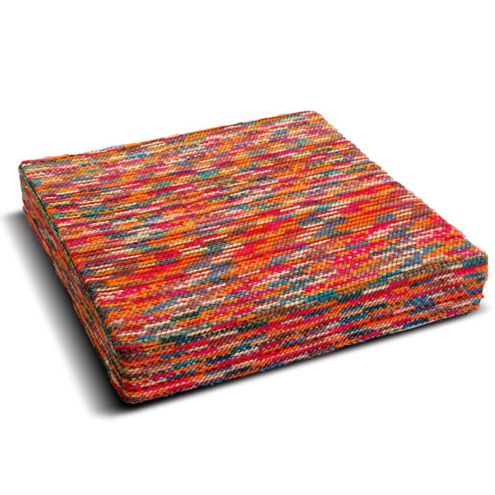 CRIBEL - Cojín Beautiful, Espuma/poliéster, Multicolor, 80 x ...