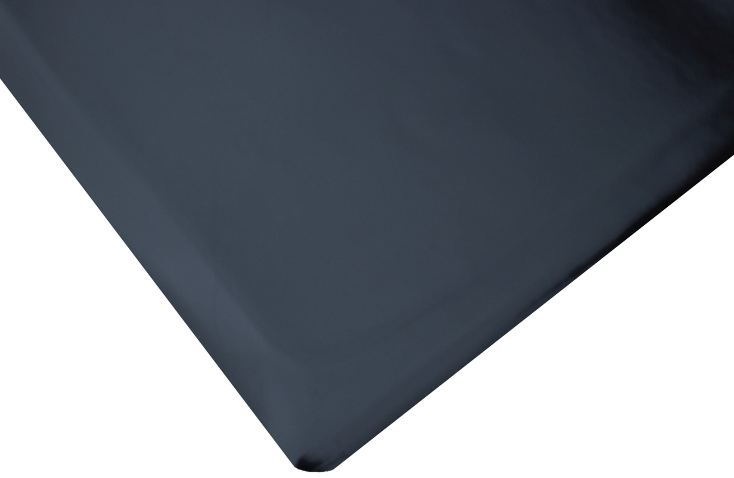 Rhino Mats TT-R36DSBLKX6 Anti-Fatigue Mat, Marbleized Tile Top, Vinyl, 3' x 6' x 7/8'', Black