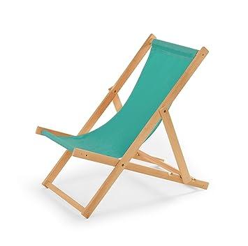 chaise longue de jardin en bois fauteuil relax chaise de plage trkis - Chaise Longue Jardin