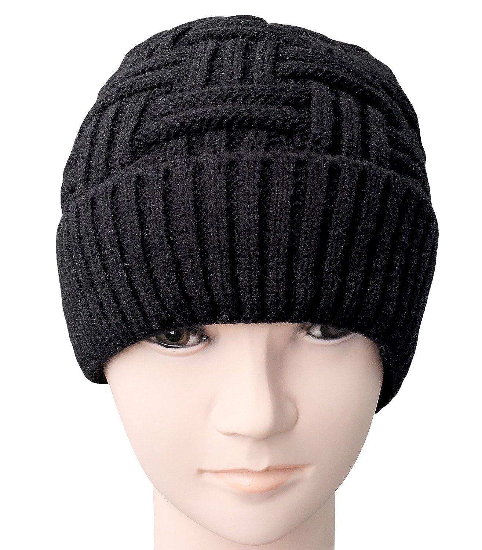 fb92030e734e72 Well-known Loritta Mens Winter Warm Knitting Hats Wool Baggy Slouchy Beanie  IQ78