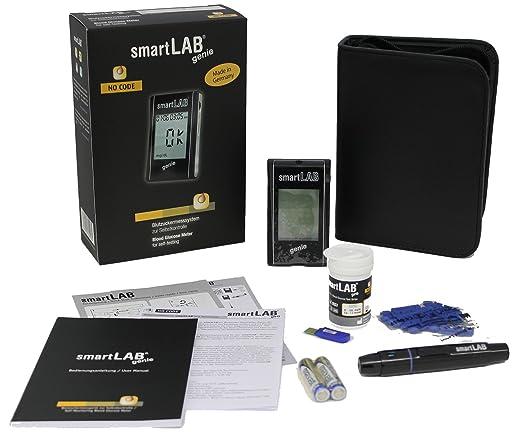 29 opinioni per SmartLAB genie Sistema di monitoraggio del glucosio nel sangue come set di