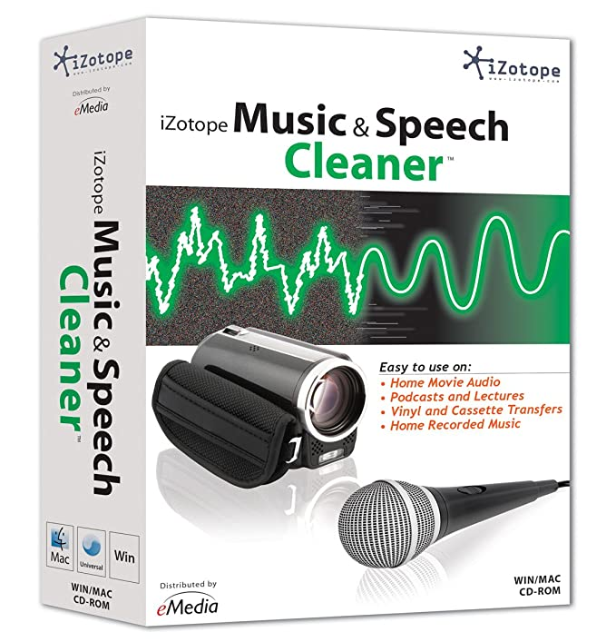 iZotope Music & Speech Cleaner [Discontinued]