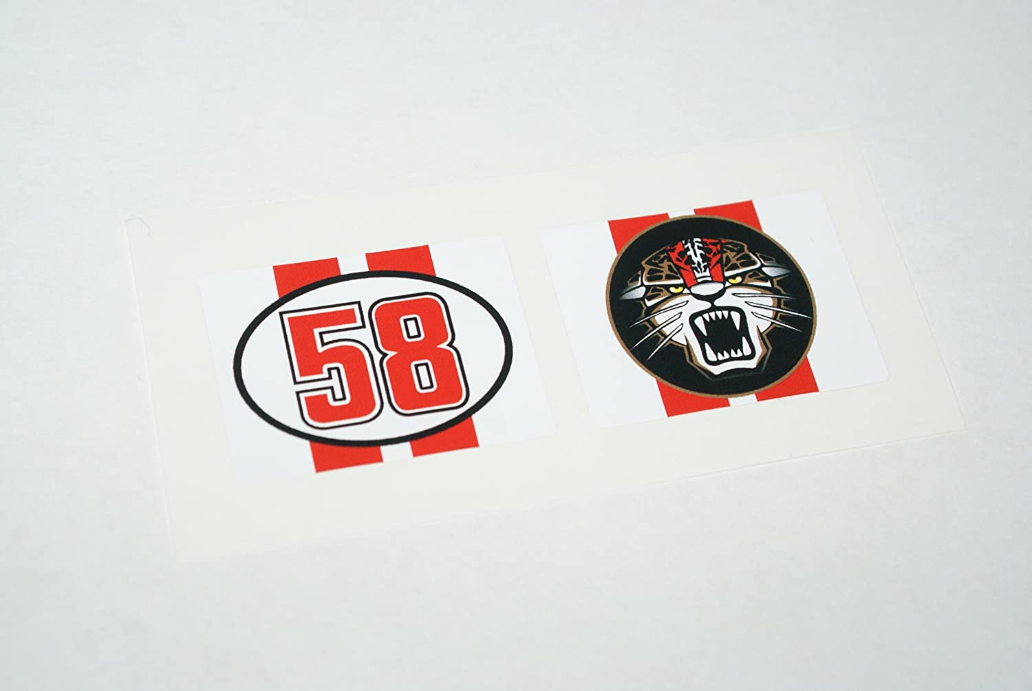 Rapro Graphics Marco Simoncelli Tearoff Decals