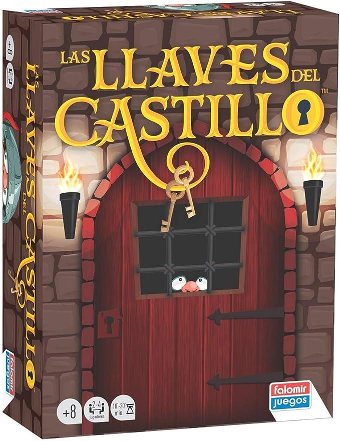 Falomir Llaves del Castillo. Juego de Mesa. Cartas, Multicolor (1 ...