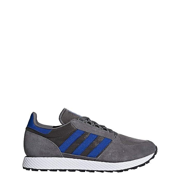 adidas Forest Grove Schuhe Herren grau (Gricua) mit blauen (Reauni) Streifen