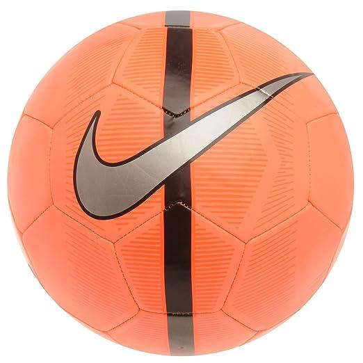Nike Mercurial Fade – Balón de fútbol (Talla Brillante Mango/Negro ...